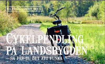 Cykelpendling på landsbygden