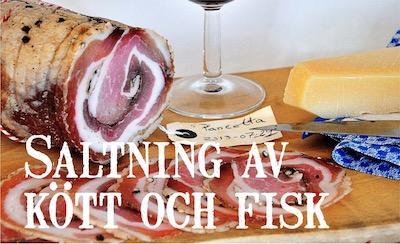 Saltning av kött och fisk